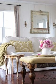 There's no debating the benefits of slipcovers and the fresh, crisp look that's so popular for spring and summer, but come fall and wi...