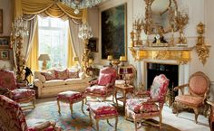 A townhouse off Grosvenor Square The Collection of Dr Peter D. Sommer Christie's 4 december 2014 Interior Louis XV style elegant