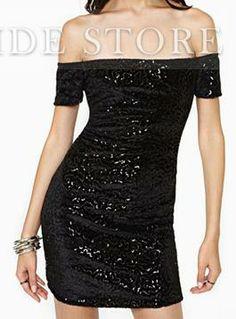 2aa93b60fa62 bigimg Black Sparkly Dress, Black Velvet Dress, Black Bodycon Dress, Sexy  Little Black