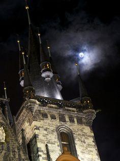 A night in Prague.