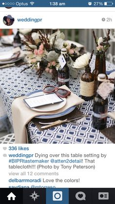 That table cloth /wow