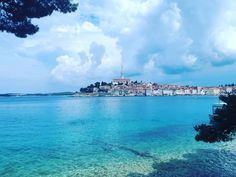 Katharin Island Rovinj Places To Visit, Clouds, Island, Beach, Water, Outdoor, Block Island, Gripe Water, Outdoors