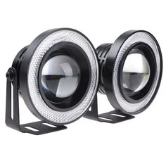 "21.90$  Watch here - http://aliefq.shopchina.info/go.php?t=32664212330 - ""2Pcs 3"""" Car COB LED Fog Light Projector White Angel Eye Halo Ring DRL Driving BulbsFits car with the size of 3""""  light holes."" 21.90$ #buyonlinewebsite"