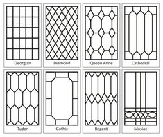 "On mirror for above the windows? How To Create a ""Leaded"" Glass Look on your Windows - using self adhesive lead tape (available in craft stores). This product line includes paint so you can create stained glass windows."