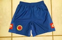 Rare LOTTO Colombia National Team Away Soccer Shorts #colombia#soccer#futbol#fifa#worldcup#ebay#ebayseller