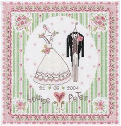 wedding day pattern free from dmc