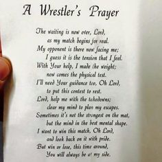 Wrestling More