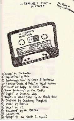 I know this is from Perks of Being of a Wallflower but i absolutely adore some of the songs on this playlist Movie Quotes, Book Quotes, Perks Of Being A Wallflower Quotes, To Do App, Song Playlist, Logan Lerman, Steve Jobs, Music Lyrics, Mixtape