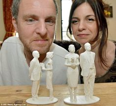 3ders.org - Make the mini selfie for your wedding cake - with 3D printing | 3D Printer News & 3D Printing News