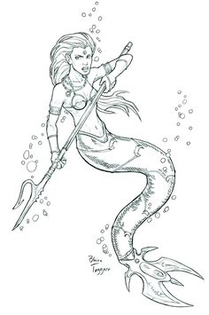 http://staino.deviantart.com/art/Mermaid-Warrior-111962911
