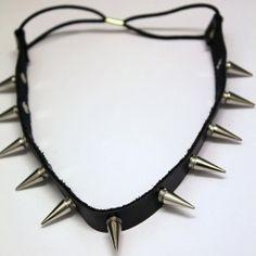 Liberty -niittihiuspanta (hopeat niitit) Liberty, Chokers, Jewelry, Fashion, Moda, Political Freedom, Jewlery, Jewerly, Fashion Styles