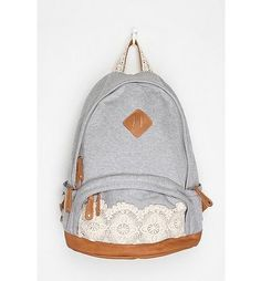 Lace & Jersey Backpack