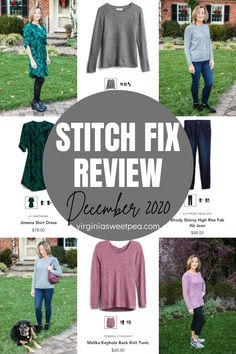 My December Stitch Fix box included styles perfect to enjoy for Christmas and into winter. See what my stylist selected for me to try! #stitchfix #stitchfixreview via @spaula