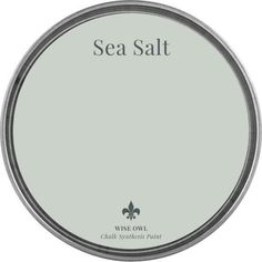 Sea Salt Wise Owl Chalk Synthesis Paint Available in Pints Green Paint Colors, Paint Colors For Home, House Colors, Beachy Paint Colors, Green Gray Paint, Light Paint Colors, Paint Colors For Bedrooms, Home Interior Colors, Dutch Boy Paint Colors