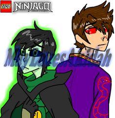Ninjago AU #10 by MaylovesAkidah