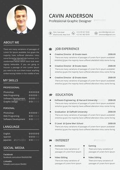 resume template australia word 9 Creative Resume Design Tips (With Template Examples) Resume Template Examples, Best Resume Template, Resume Design Template, Creative Resume Templates, Cv Template, Resume Ideas, Resume Tips, Sample Resume, Curriculum Vitae Template Free