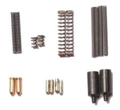 All Parts Manufactured in the USA!   All the parts that go missing while assembling your AR-15. Having one of these kits handy will save you much time and frustration. Includes: 4 Take down Detents, 4 Take down Detent Springs, 2 Selector Detents, 2 Selector Detent Springs, 2 Buffer Retainer Detents, 2 Buffer Retainer Detent Springs, and 2 Disconnecter Springs.