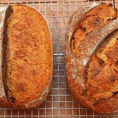 Pan casero 100% integral | Recetas de Cocina Casera | Recetas fáciles y sencillas