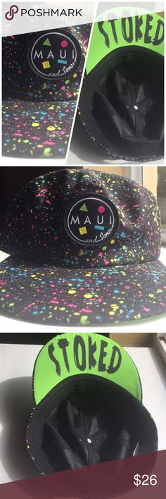 1480242d8b7d2d It has a flip up style. One size fits all NWOT ❌❌No Trades‼ Maui and Sons  Accessories Hats