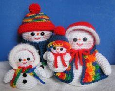 WOODLAND SANTA PDF Crochet Pattern van bvoe668 op Etsy