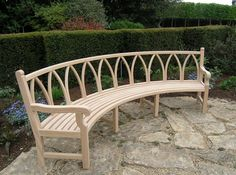 Refreshing Curved Bench Seating On Furniture With Outdoor Curved Bench Seating For Pinterest