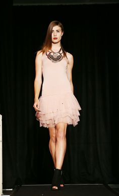 Pink Tulle   New Look   Dublin Fashion Festival 2013