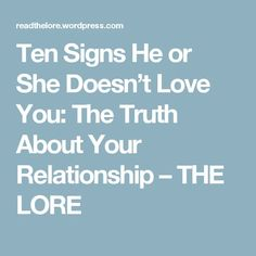 Signs of disrespect in marriage