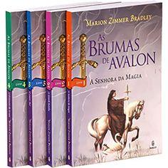 Coleção Completa As Brumas de Avalon de Marion Zimmer Bradley. Seguindo a mesma tendência de George R. R. Martin em Crônicas de Gelo e Fogo, a autora nos faz observar o papel das mulheres no mito arturiano. Essencial para compreender os primórdios do Cristianismo também.