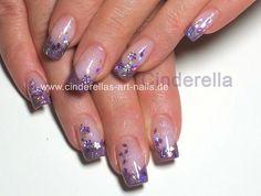 Glitter nailart