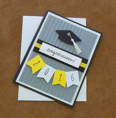 Unique 2016 Graduation Card  Graduate Cards  High by Artsycardsee