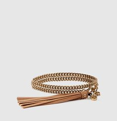 Gucci/ Chain Belt With Tassel Buckle RRP $485/ subtle bling for a plain dress or give contemporary edge to evening wear