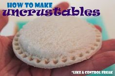 "Make your own HEALTHY uncrustables!  I just ordered my Pampered chef ""Press-N-Seal"" yesterday!"