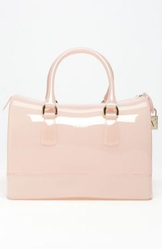 Furla Candy Boston Bag - Light Pink w/ gold hardware @ Nordstroms.    A Must Have!