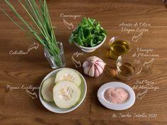 Gazpacho de Pepino y Canónigos   Mise en place Apple Vinegar, Dinners, Cooking, Mise En Place