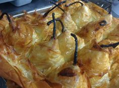 Pear and Honey filo pie recipe