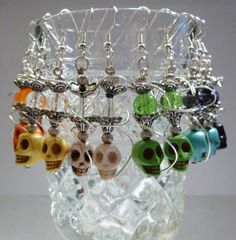 Skull Hookah Earrings!  Come to Lux Lounge in West Bloomfield, MI to relax with friends at a premiere hookah lounge in an upscale atmosphere!  Call (248) 661-1300 or visit www.luxloungewb.com for more information!