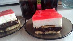 Nepečené čokoládovo-jogurtové kocky Cheesecake, Food, Cheesecakes, Essen, Meals, Yemek, Cherry Cheesecake Shooters, Eten