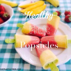 Healthy fruit Popsic