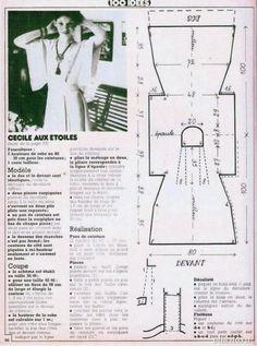 Ретро-платье, простая выкройка