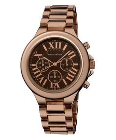 Rose Gold & Brown Watch add to my favorites Vernier  $29.99