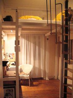 ein hochbett selber bauen diy anleitung hochbett pinterest hochbett selber bauen. Black Bedroom Furniture Sets. Home Design Ideas