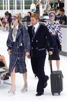 Suzy Menkes over Chanel: 'een vliegveld uit je dromen'