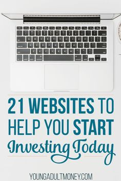 21 Websites to Help You Start Investing Today - Stock Market Investing - Ideas of Stock Market Investing - Investing can be an intimidating thing to start. Here are 21 websites to help you start investing. Stock Market Investing, Investing In Stocks, Investing Money, Investment Tips, Investment Companies, Investment Group, Investment Property, Retirement Investment, Business Definition