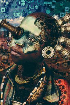 Tahir Carl Karmali takes us behind the scenes of his stunning portraits of Kenya's 'jua kali' workers.