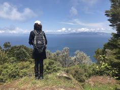 Great Barrier Island - New Zealand (Aotea). Princess Wears Hiking Boots looking out across the Hauraki Gulf to the Coromandel Peninsula. White Sand Beach, Ocean Beach, Small Caravans, Auckland New Zealand, Forest Mountain, Crystal Clear Water, Hiking Boots, Cape, Surfing