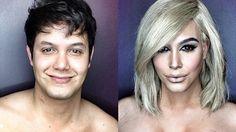 - Un maquilleur se transforme en Kim Kardashian