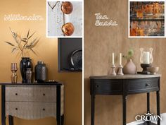 Why not add some rich earthy tones to your home? You don't need six figures to get the millionaire look!