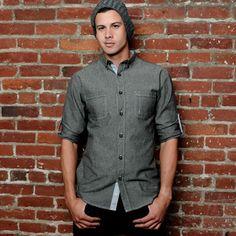 Merseyside Twill Shirt Black now featured on Fab.