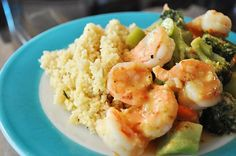 """Quick Shrimp Dinner"" I love shrimp....always pick some up when its on sale"