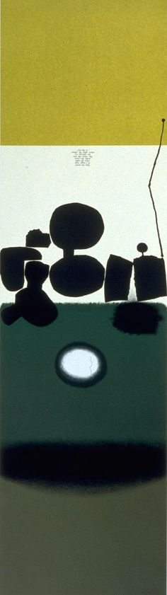 Victor Pasmore, 'Hear the Sound of a Magic Tune' 1974; screen print on paper.
